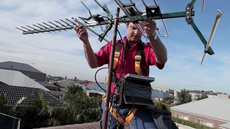 Installing TV Antenna